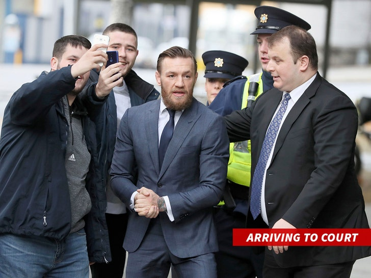 McGregor fined €1,000 over pub assault