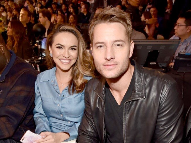 Justin Hartley and Chrishell Stause -- Happier Times