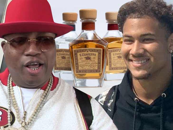 E-40 Gifts 49ers' Trey Lance Signature Booze, Happy 21st & Welcome To The Bay!.jpg