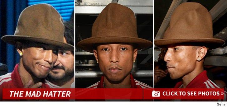 Pharrell Williams -- Mad Hatter