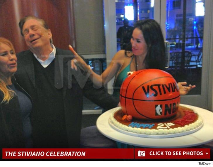V. Stiviano's Birthday Celebration
