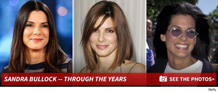 Sandra Bullock-- Through the Years