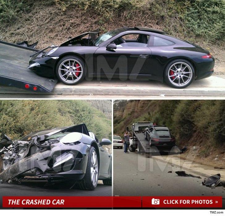 Lindsay Lohan's Crash Scene