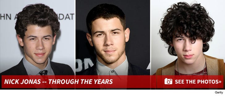 Nick Jonas -- Through The Years
