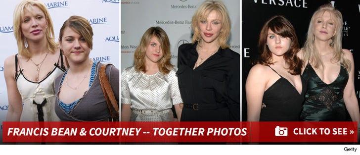 Francis Bean & Courtney Love -- Together Photos