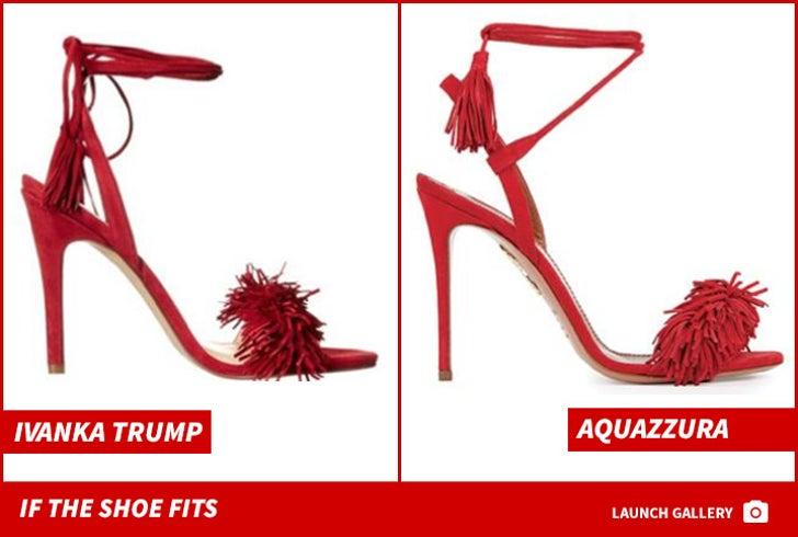 Aquazzura and Ivanka Trump -- If The Shoe Fits