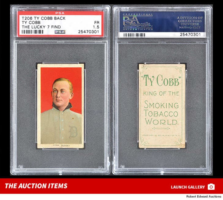 Baseball Memorabilia Auction