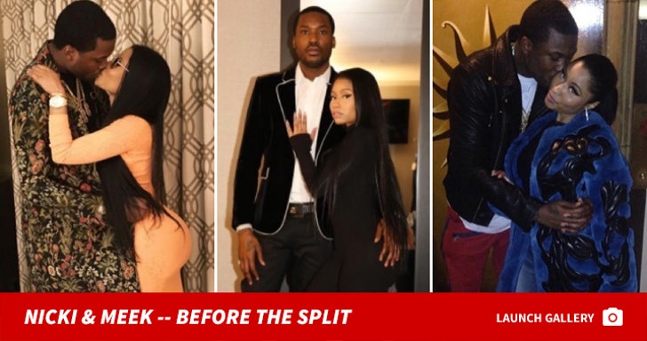 Meek Mill and Nicki Minaj -- Before the Split