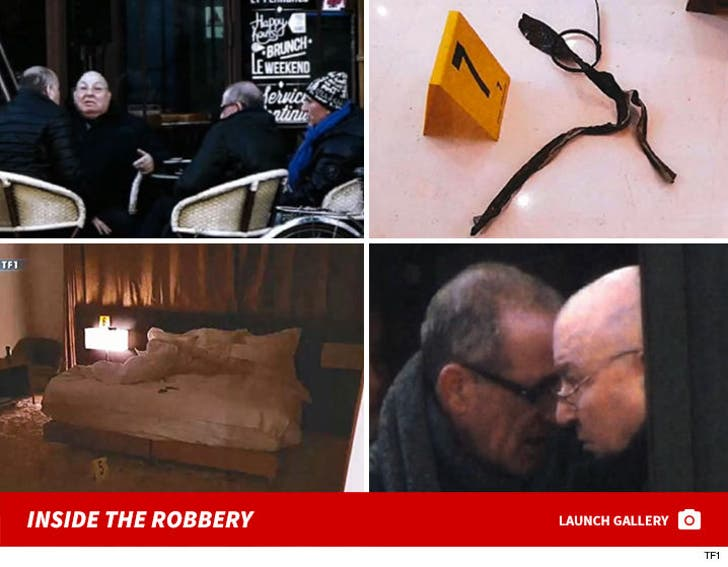 Kim Kardashian Paris Robbery Crime Scene Photos