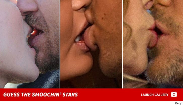 Smoochin' Stars -- Guess Who!