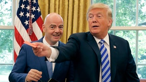 Donald Trump Meets With FIFA President, Red Cards The Media!