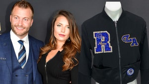 Sean McVay's GF Gets Custom Jacket For Super Bowl, 4,000 Crystals!