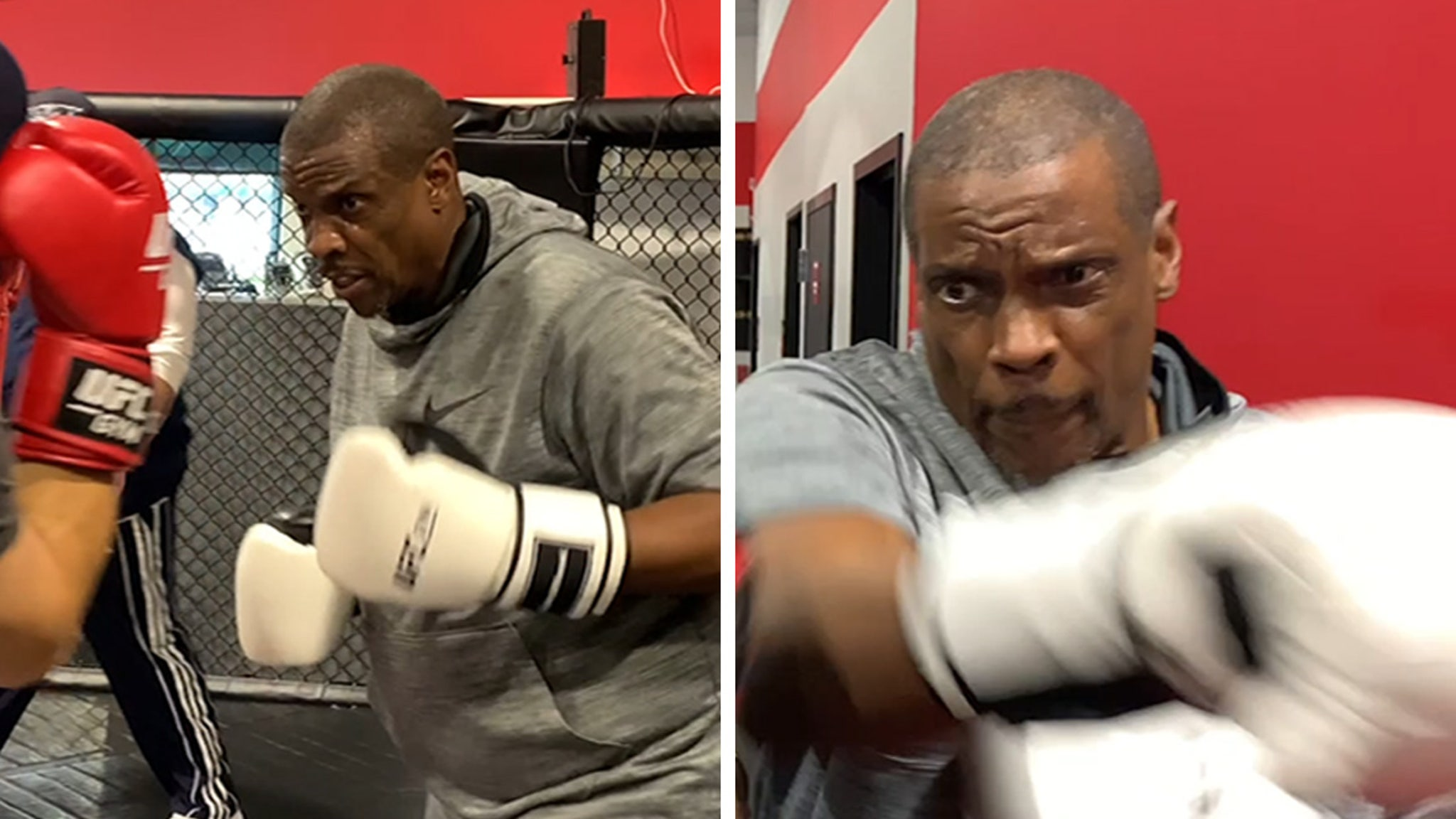 Dwight Gooden Training For Celeb Boxing Match, Intense Workout Video!!