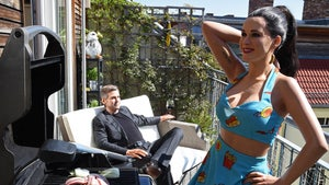 Katy Perry & George Clooney's Wax Figures Quarantine & Chill in Berlin