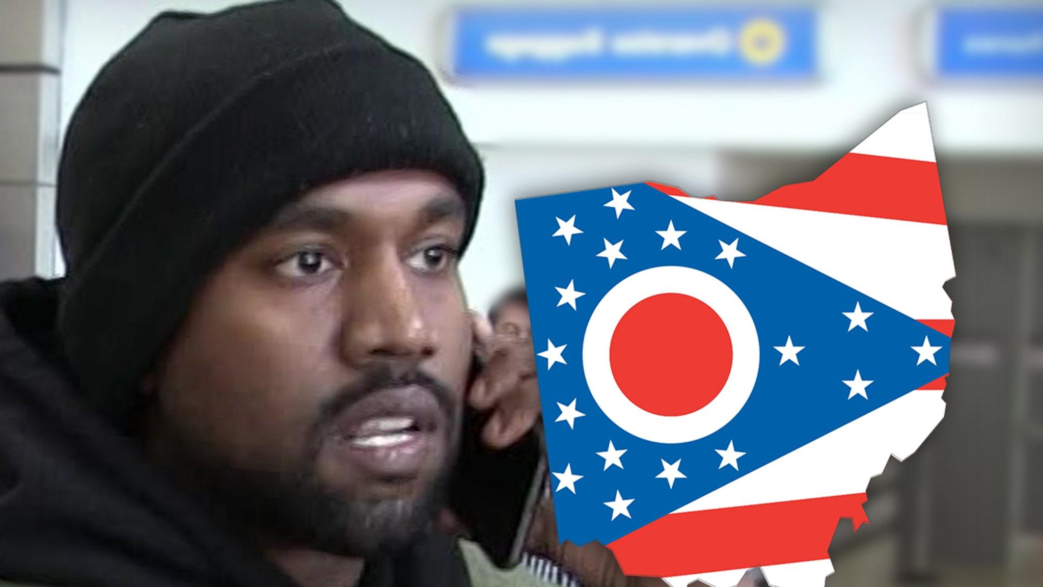 Kanye Makes Play to Get on Presidential Ballot in Ohio - TMZ