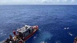 Coast Guard Shoots at Shark Stalking Swimmers