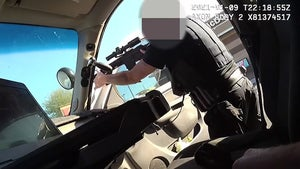 Police Body Cam Video Shows Dramatic Takedown of Man Holding Baby Hostage