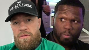Conor McGregor Roasts 50 Cent Comparison, My 1st Pitch Was Way Better!