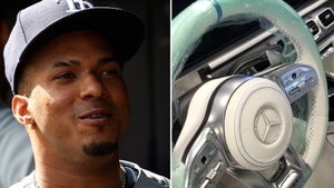 MLB Rising Star Wander Franco Cops New Mercedes, $20k Iced-Out Steering Wheel
