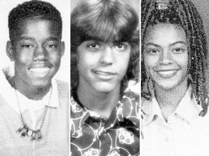 Celebrity Yearbook Photos -- Smilin' For School!