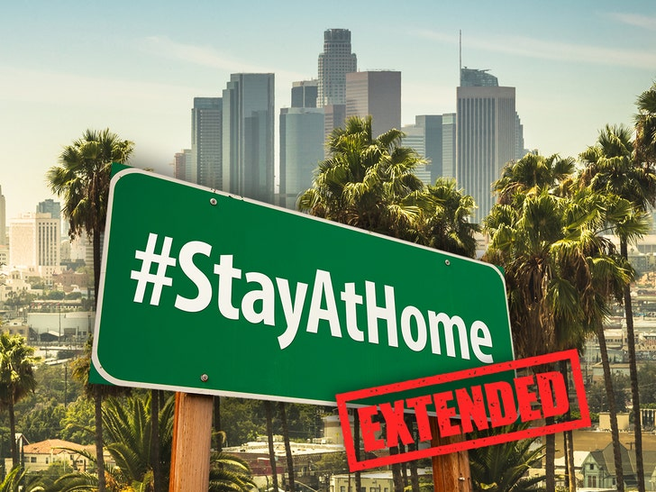 LA County Extends Stay at Home Order to May 15