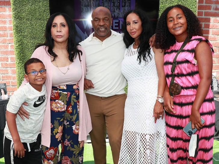 Mike Tyson Attends the 100 Women Matter Luncheon