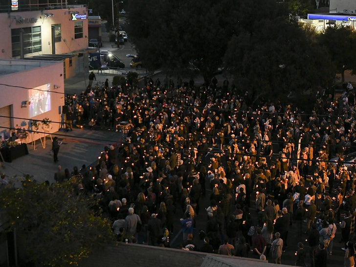 Candlelight Vigil For Halyna Hutchins