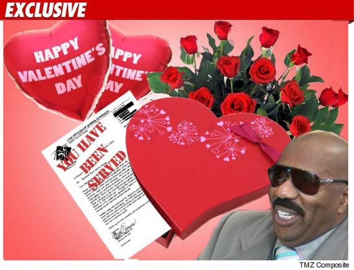 Steve Harvey S Ex Wife Valentine S Day Gag Order