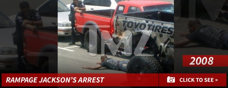 Rampage Arrested