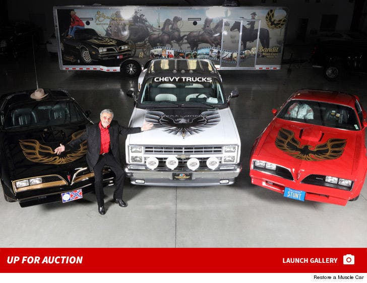 Burt Reynolds's Personally Owned Cars Up For Auction