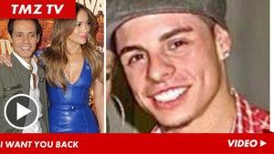 Marc Anthony & Jennifer Lopez -- Reconciliation Talk is BAD News for Casper Smart