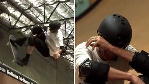 Tony Hawk Breaks Down In Tears After Nailing 'Last Ever' Ollie 540