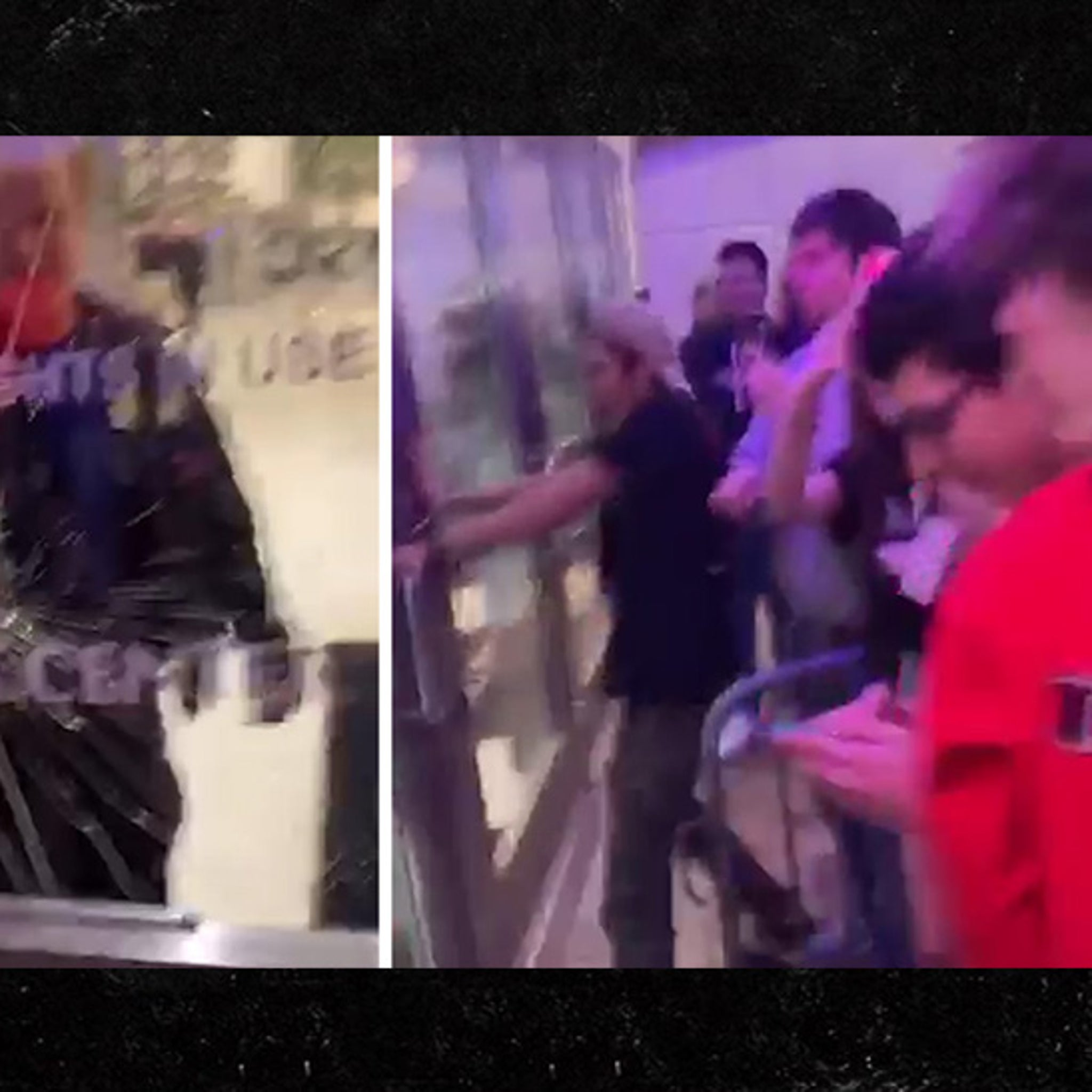 febd97a84dbe Travis Scott Fans Freak Out Over Postponed Show, Shatter Glass Door