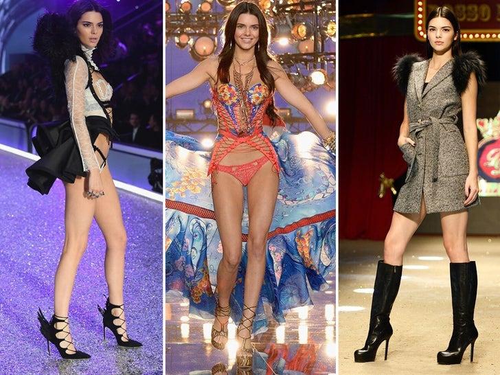 Kendall Jenner's Crazy Modeling Looks