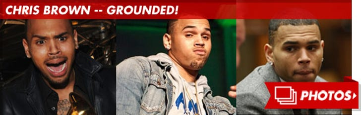 Chris Brown -- The Proud Papa
