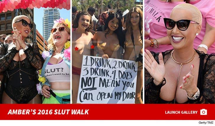 Amber Rose -- SlutWalk 2016