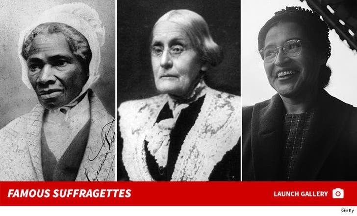 Famous Suffragettes