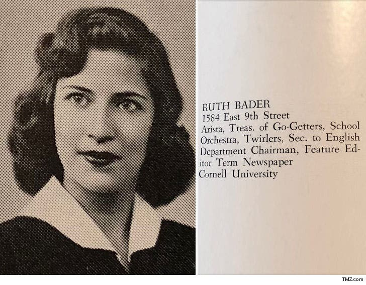 Ruth Bader Ginsburg Was A High School Twirler
