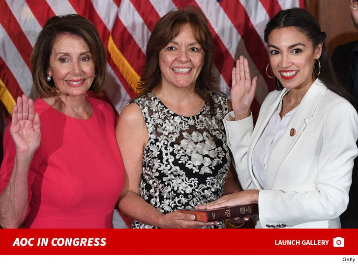 Alexandria Ocasio-Cortez In Congress