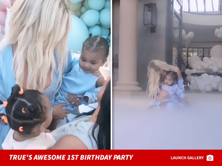 True Thompson's Awesome 1st Birthday Party