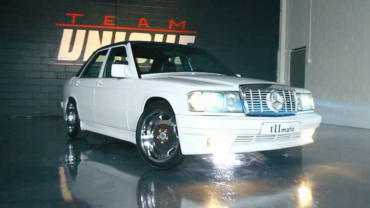 Nas Finally Lands His Dream Car, A 1988 Mercedes-Benz