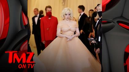 Billie Eilish Wears Oscar de la Renta to Met Gala After Designer Ditches Fur | TMZ TV.jpg
