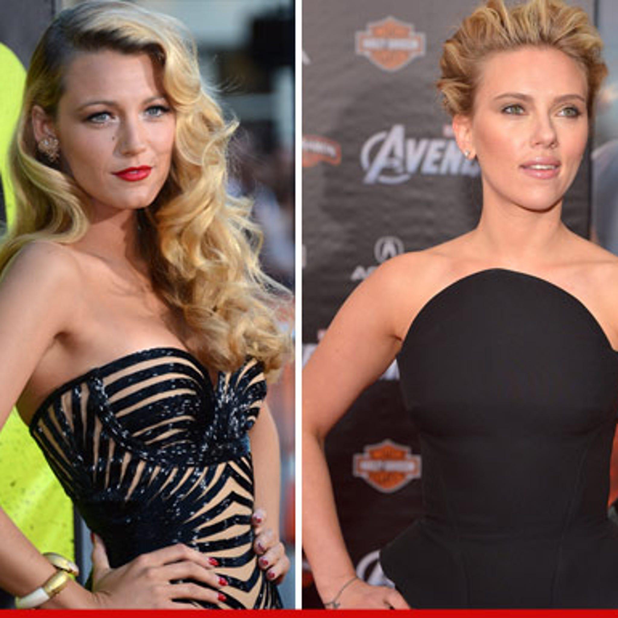 Blake Lively Vs Scarlett Johansson Who D You Rather