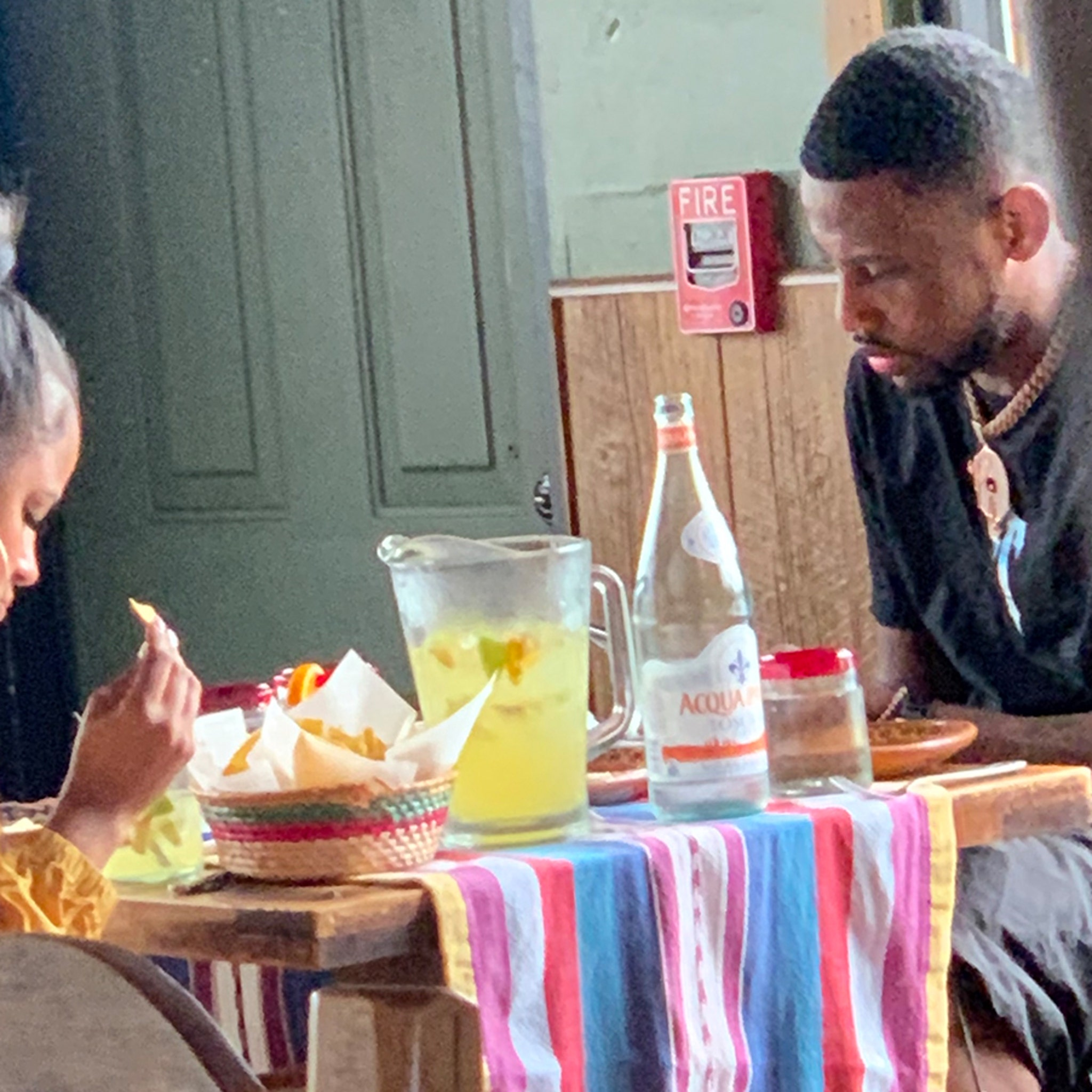 Fabolous Splits with GF Emily B, Lunches with Mystery Woman