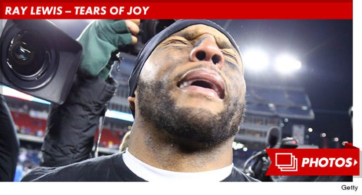 Ray Lewis -- Tears of Joy