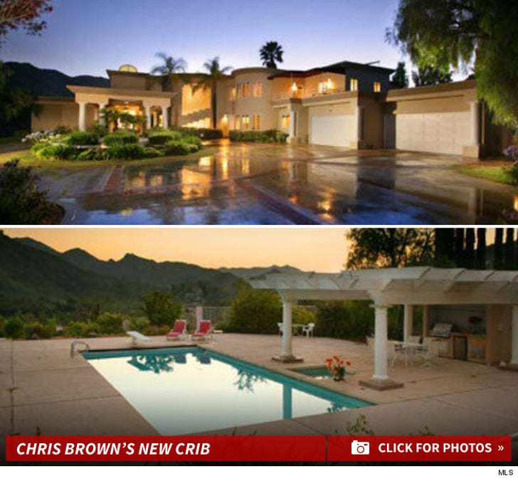 Chris Brown's New Crib