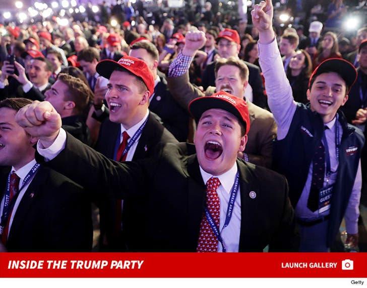 Inside Donald Trump's Election Night Event