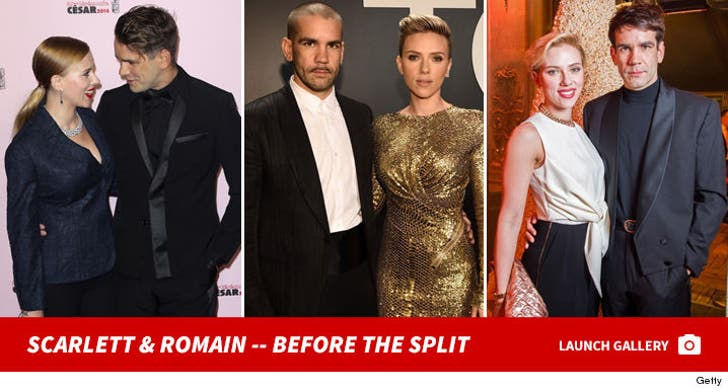 Scarlett Johansson and Romain Dauriac -- Before the Split