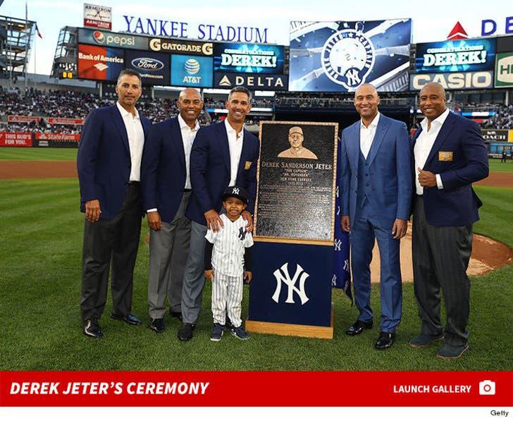 Derek Jeter's Yankees Ceremony