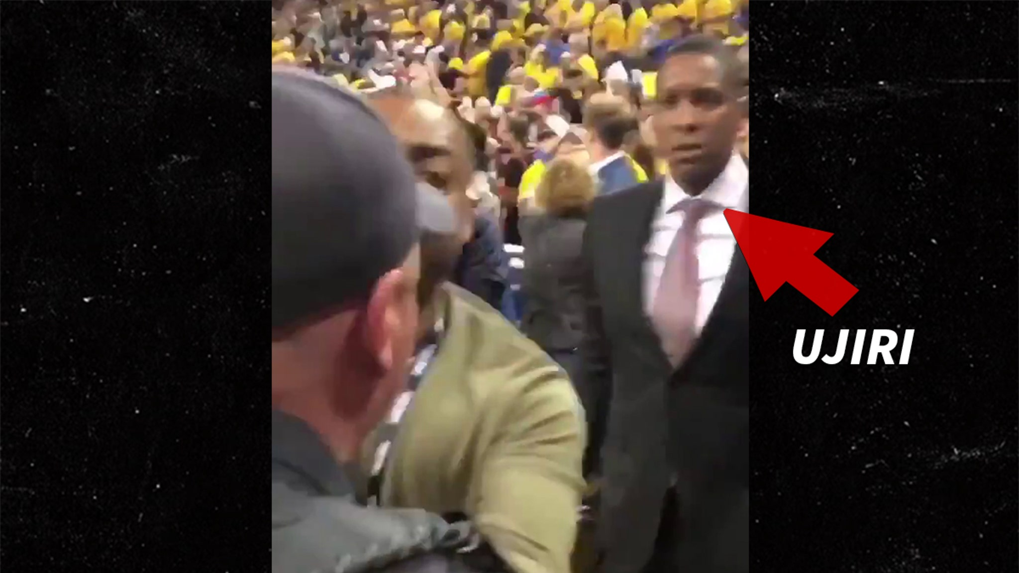 Cop In Raptors' Masai Ujiri Fight Blasts Racism Claims, My Family Is